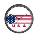 USA Vintage Wall Clock