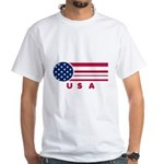 USA Vintage White T-Shirt