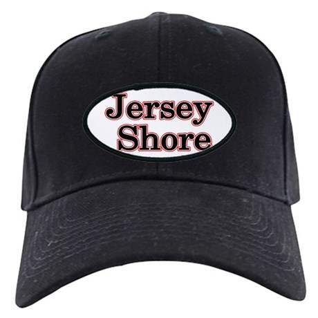 Jersey Shore Red Black Cap