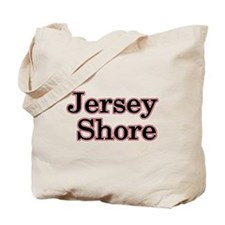 Jersey Shore Red Tote Bag