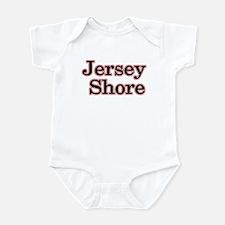 Jersey Shore Red Infant Bodysuit