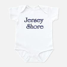 Jersey Shore Blue Infant Bodysuit