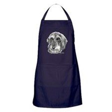 Unique Wire hair dachshund Apron (dark)