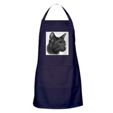 Havana Brown Cat Apron (dark)