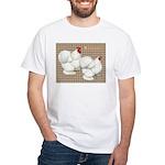 Bantam Cochins White T-Shirt