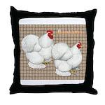 Bantam Cochins Throw Pillow