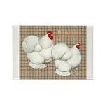 Bantam Cochins Rectangle Magnet (100 pack)