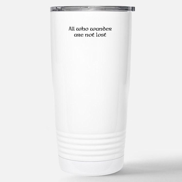 'All who..', Travel Mug