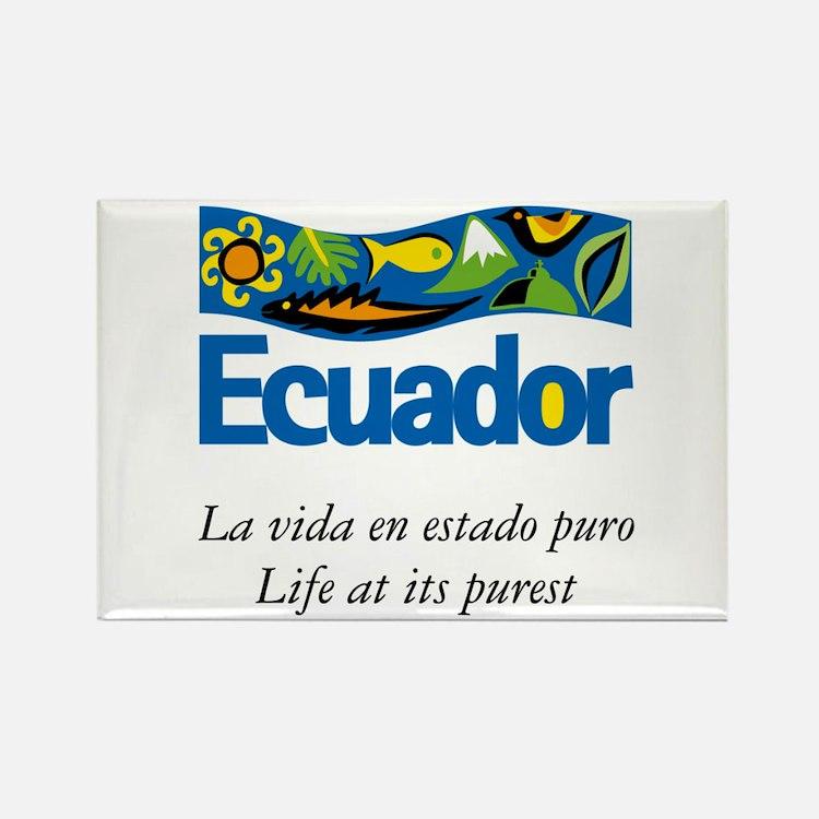 Cute Ecuador Rectangle Magnet