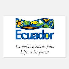 Cute Ecuador Postcards (Package of 8)