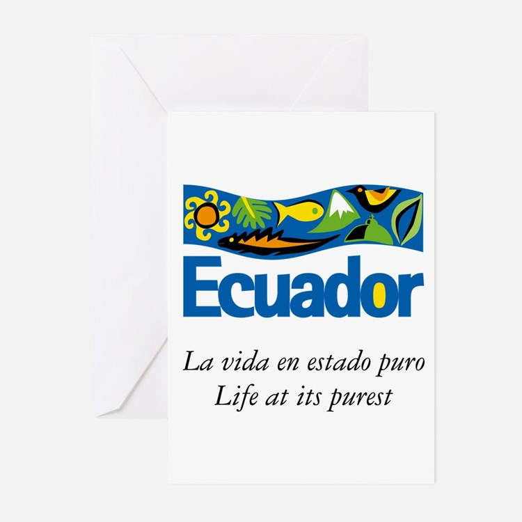 Cute Ecuador Greeting Cards (Pk of 20)