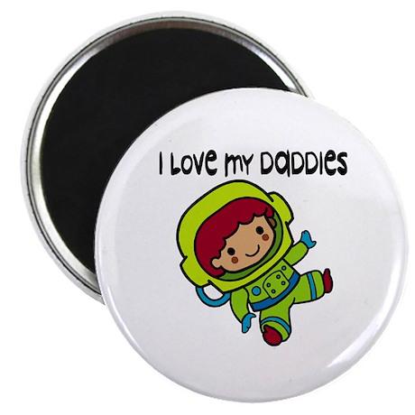 #8 I Love My Daddies Magnet