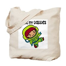 #8 I Love My Daddies Tote Bag