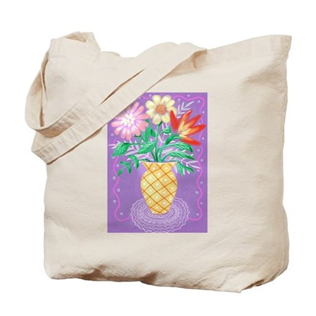 """""""Bouquet"""" Tote Bag"""