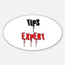 Tips Expert Oval Decal