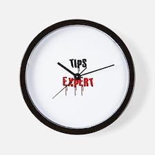 Tips Expert Wall Clock
