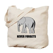 Never Forgets Tote Bag