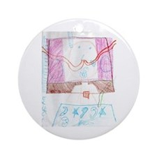 Holiday Artist Skye Miscio Ornament (Round)