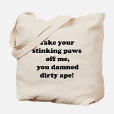 Funny Planet of the apes Tote Bag