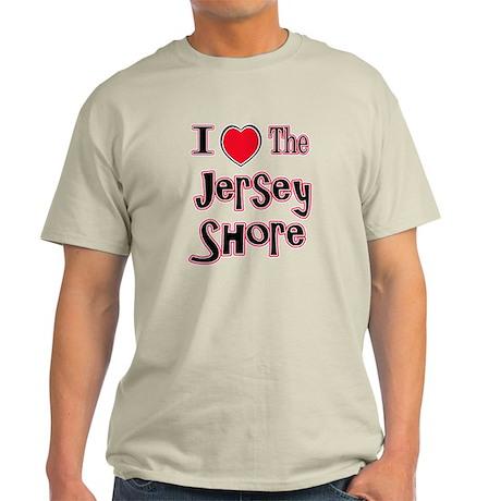 I love the jersey shore red Light T-Shirt