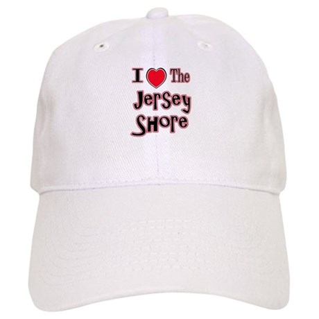 I love the jersey shore red Cap