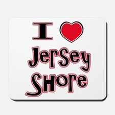 love the shore red Mousepad