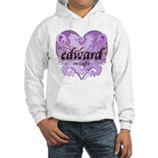 Edward Lion Ribbon Crest Heart Hoodie
