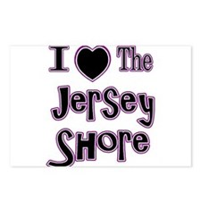 I love the jersey shore Postcards (Package of 8)