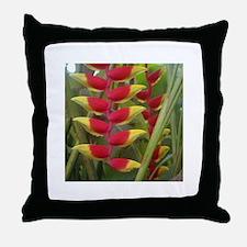 Kew Flower Photo Throw Pillow