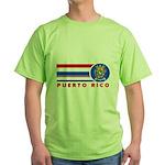 Puerto Rico Vintage Green T-Shirt