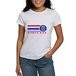 Puerto Rico Vintage Women's T-Shirt
