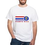 Puerto Rico Vintage White T-Shirt