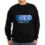 Paris Eiffel Tower Vintage Sweatshirt (dark)