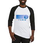 Paris Eiffel Tower Vintage Baseball Jersey