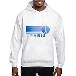 Paris Eiffel Tower Vintage Hooded Sweatshirt