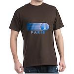 Paris Eiffel Tower Vintage Dark T-Shirt