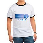 Paris Eiffel Tower Vintage Ringer T