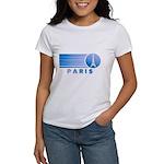 Paris Eiffel Tower Vintage Women's T-Shirt