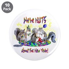 "Squirrels NY 3.5"" Button (10 pack)"