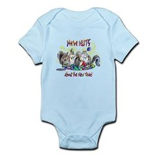 Squirrels NY Infant Bodysuit