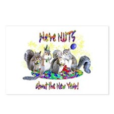 Squirrels NY Postcards (Package of 8)