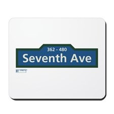 7th Avenue in NY Mousepad