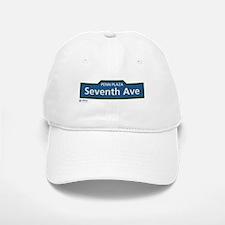 7th Avenue in NY Baseball Baseball Cap