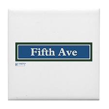 5th Avenue in NY Tile Coaster