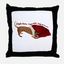 Toy Bag Throw Pillow