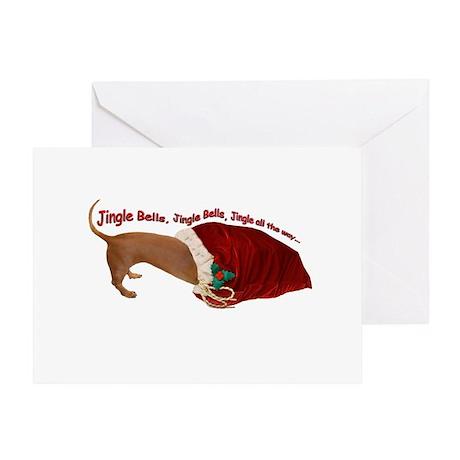 Toy Bag Greeting Card