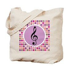 Music Treble Clef Tote Bag