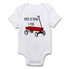LITTLE RED WAGON Infant Bodysuit