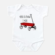 LITTLE RED WAGON Infant Bodysuit