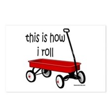 LITTLE RED WAGON Postcards (Package of 8)